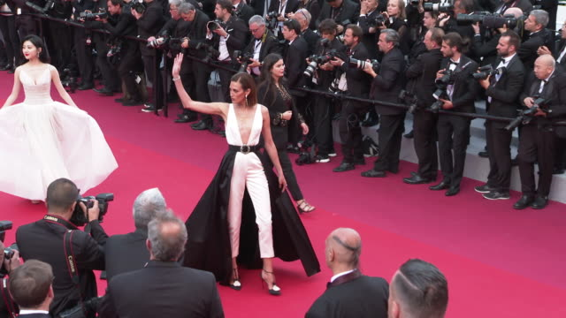Nieves Alvarez at 'Les Miserables' Red Carpet Arrivals The 72nd Cannes Film Festival on May 15 2019 in Cannes France