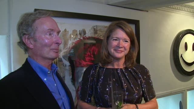 interview nigel and georgina mackintosh on millie her achievements and history at millie mackintosh clothing showcase on 10th september 2014 in... - karamell stock-videos und b-roll-filmmaterial