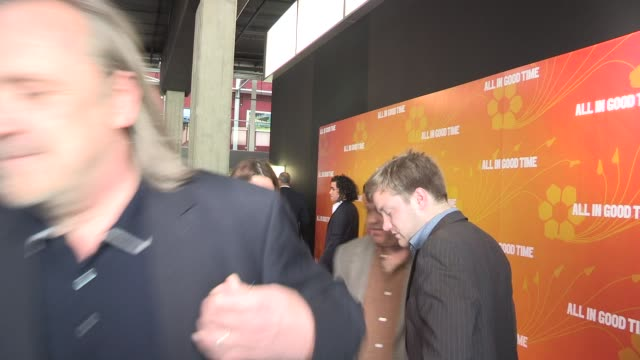nigel cole & harish patel at gala premiere of all in good time at bfi southbank on may 8, 2012 in london, england - bfi southbank stock videos & royalty-free footage