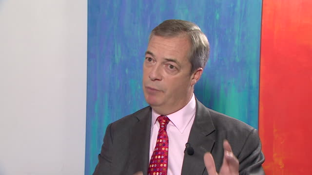 nigel farage saying if the brexit party gains mp's we can keep boris to his promises - nigel farage stock videos & royalty-free footage