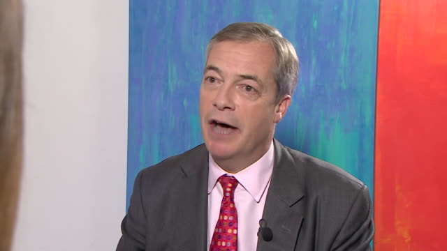 nigel farage saying the conservative party have let us down for the past 3 and a half years by making promises and not delivering on them - nigel farage stock videos & royalty-free footage