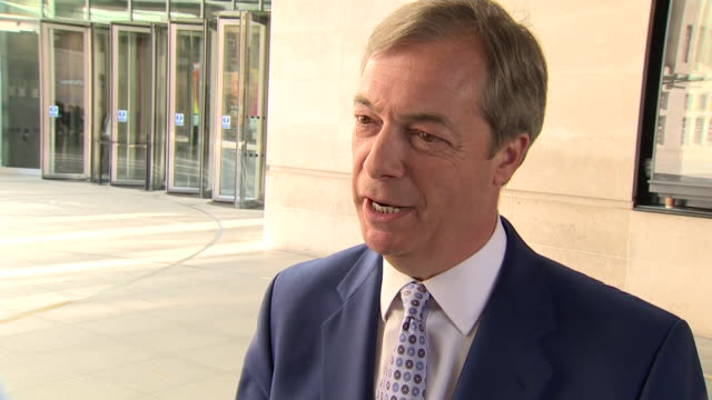 nigel farage saying the only way now to deliver brexit is to leave on wto terms and then negotiate a trade deal - world trade organisation stock videos & royalty-free footage