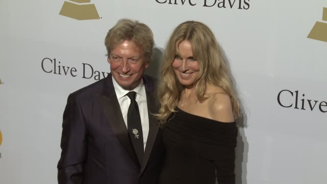 nigel lythgoe and alana stewart at the 2017 pre-grammy gala honoring debra l. lee with grammy salute to industry icons award at the beverly hilton... - alana stewart stock videos & royalty-free footage