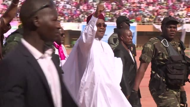 niger is heading to the polls sunday to elect a president after a campaign marked by tensions between rival parties in a country known for its... - mahamadou issoufou stock videos and b-roll footage