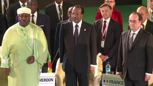 nigeria acoge este sabado una cumbre internacional sobre la seguridad para intentar poner fin a la insurreccion islamista de boko haram cuyos... - naciones unidas stock videos & royalty-free footage