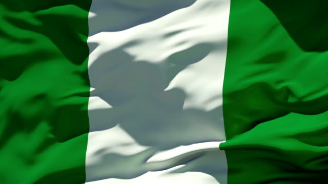 nigeria flag - flag stock videos & royalty-free footage