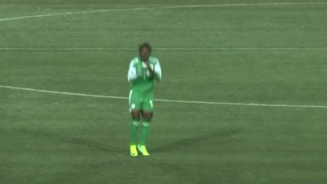 Nigeria women football team beat Ivory Coast 42 in their opening game of the 2014 African Womens Championship a qualifying tournament for the 2015...