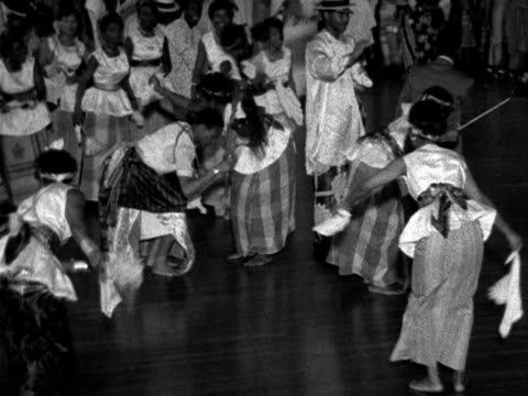 Nigerians celebrate gaining independence from the British by holding a party at the Royal Festival Hall