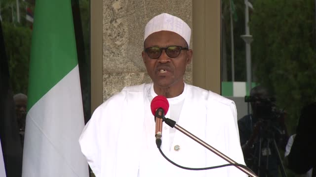 nigerias president buhari marks one year in office on sunday after 12 months dominated by efforts to end the brutal boko haram conflict and tackle... - endemic stock videos and b-roll footage