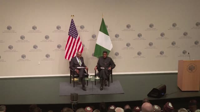nigeria's president muhammadu buhari warned washington on wednesday that a us refusal to arm his troops because of so called human rights violations... - human arm stock videos & royalty-free footage
