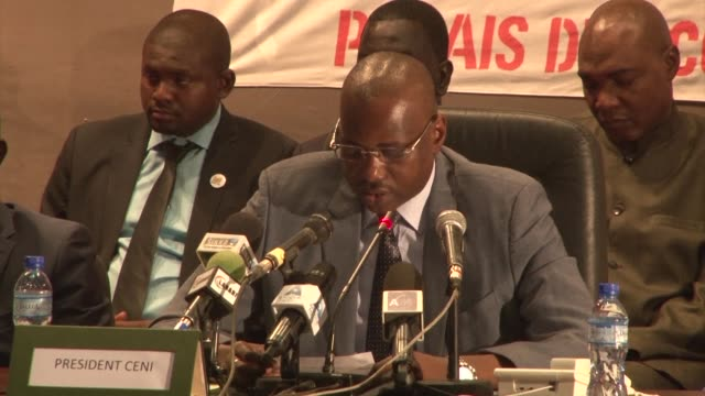 nigers president mahamadou issoufou secures 92 percent of the vote in a controversial run off ballot boycotted by the opposition according to... - mahamadou issoufou stock videos and b-roll footage