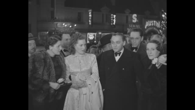 actress maureen o'hara arrives for the los angeles premiere of 'the hunchback of notre dame,' in which she stars; her mother, marguerite fitzsimons,... - hollywood california stock videos & royalty-free footage