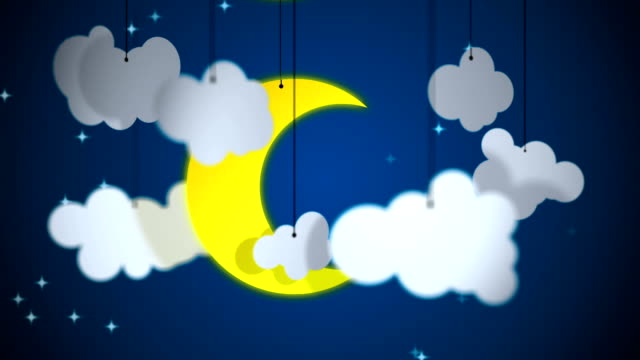 Night and day loopable background