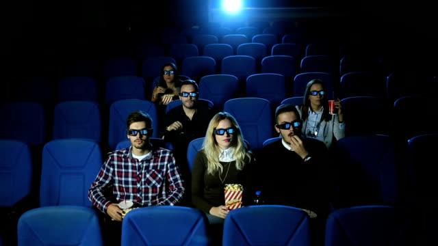 vidéos et rushes de nuit au cinéma - silence