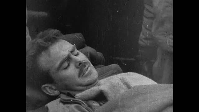 night battle / injured us soldiers - 1943 stock videos & royalty-free footage