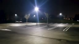 Night car parking