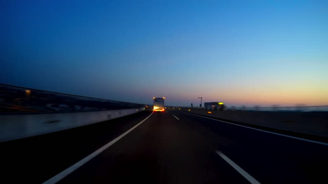 night city drive - motorway stock videos & royalty-free footage