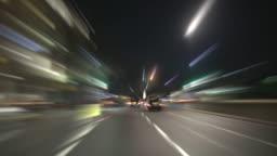 Night City Driving. HD