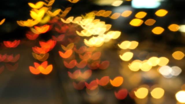 night city oskärpa och typiska stadens brus - softfokus bildbanksvideor och videomaterial från bakom kulisserna