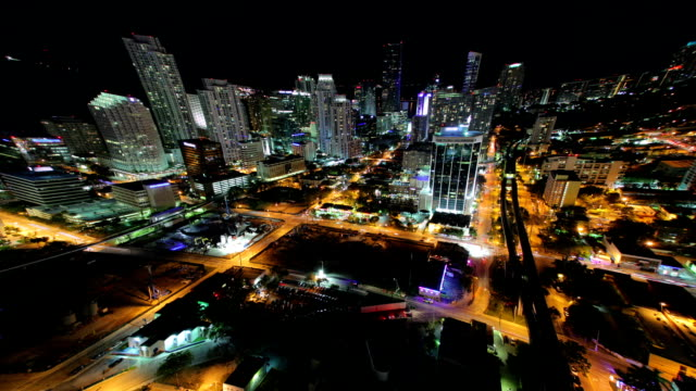 night city, miami. time lapse - special effect stock videos & royalty-free footage