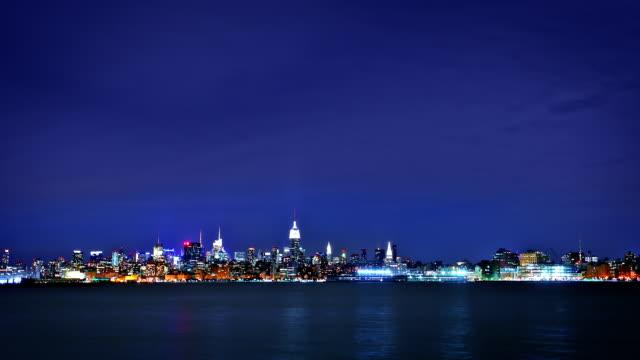 Night city panorama.
