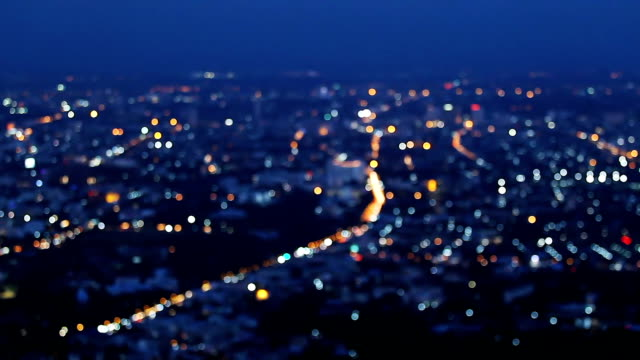 Night city scape
