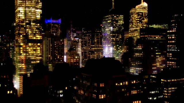 night city time lapse - 34th street stock videos and b-roll footage