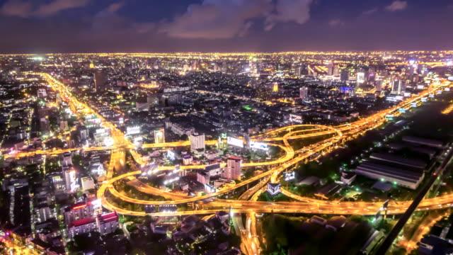 Nacht Stadt, Zeitraffer