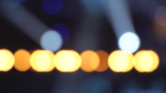nattklubb belysningsutrustning - bildskadeeffekt bildbanksvideor och videomaterial från bakom kulisserna