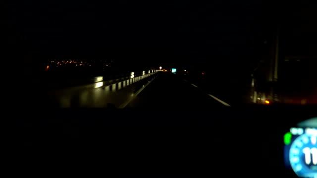 Night Drive on Hihgway