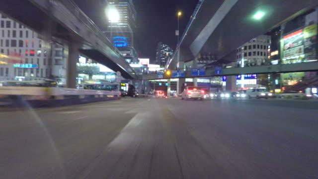 Night driving in Shibuya