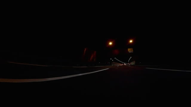 night driving on highway | super wide - moving process plate stock videos & royalty-free footage