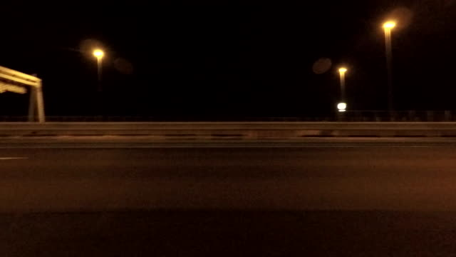 Night driving - side view