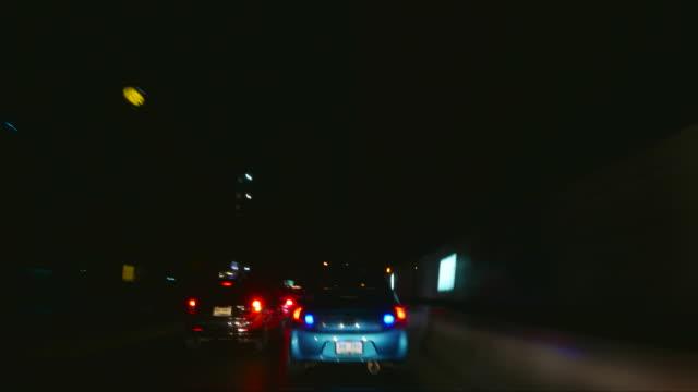 Night Driving timelapse