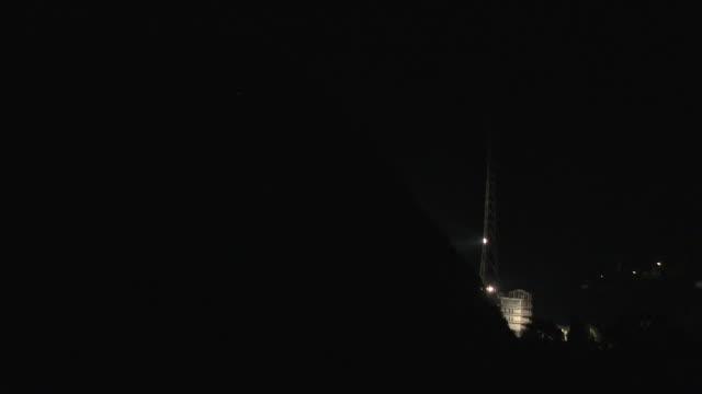 night exterior shots of launching the new beidou navigation satellite system satellites into space from the xichang satellite launch center in... - utforskning av rymden bildbanksvideor och videomaterial från bakom kulisserna