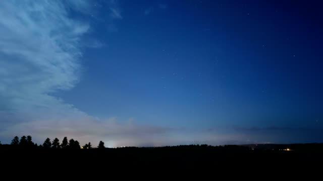 night fog, timelapse - stratus stock videos & royalty-free footage