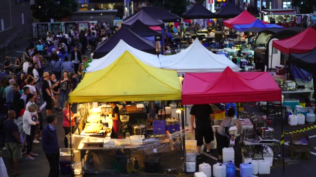 Night Food Market.