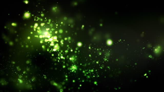 Night Glitter Loop - Green (1080)