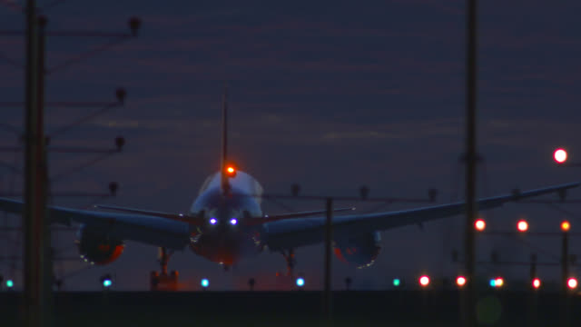 Night Landing at LAX