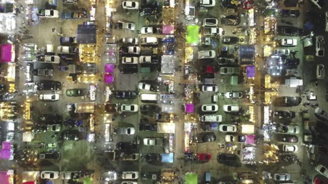 Nachtmarkt in Bangkok, Thailand