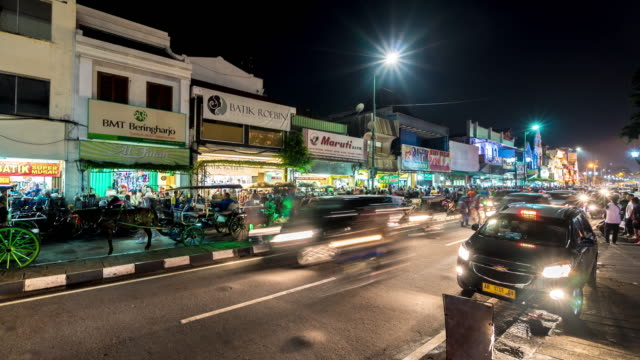 Night market in Yogyakarta
