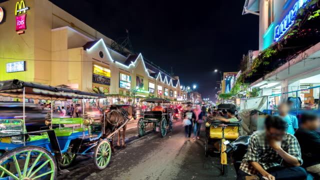 night market in yogyakarta - jakarta stock videos & royalty-free footage