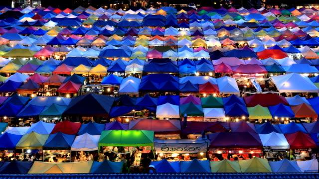 Night market place