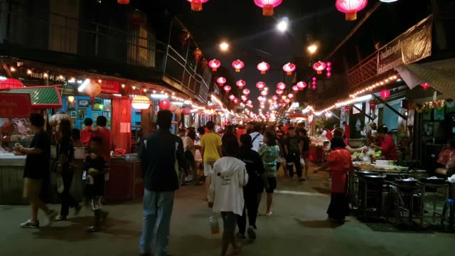 night market - ultra high definition television stock-videos und b-roll-filmmaterial