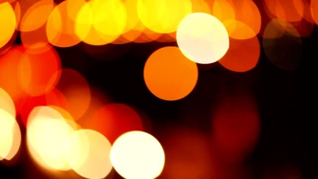 """vidéos et rushes de nuit route reflet d """" objectif qui met en haute définition - mèche colorée"""