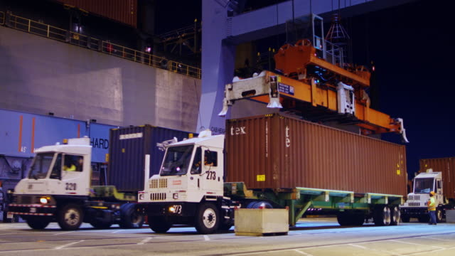Night Shift at the Port of Los Angeles