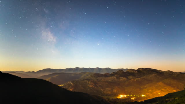 Night Sky Time-Lapse in Cantabria