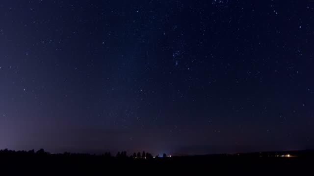 night sky, timelapse - constellation stock videos & royalty-free footage