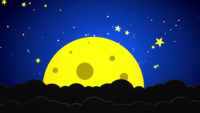 夜空 - 可愛らしい点の映像素材/bロール