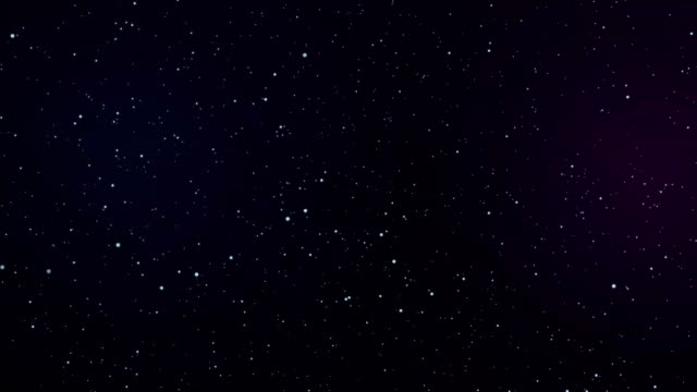 night starry skies with twinkling or blinking stars:flying through te - blinking star stock videos & royalty-free footage